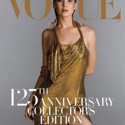 Jennifer Lawrence posa para portada del 125 aniversario de Vogue en septiembre/ Foto: Inez & Vinoodh