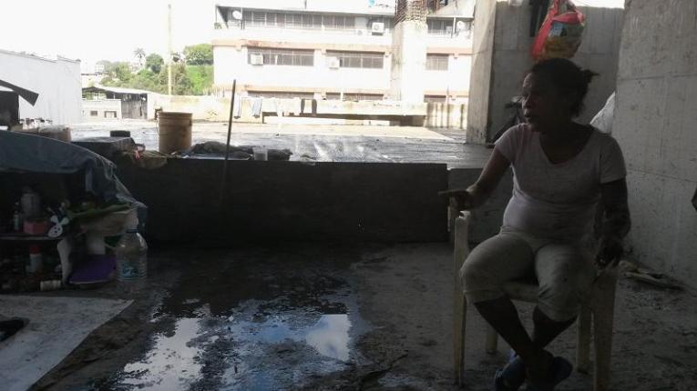 Yosmar Molina tiene 4 años viviendo junto a su familia en las calles