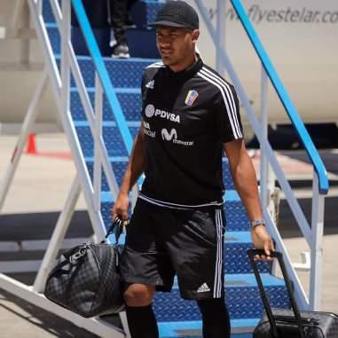 El delantero del West Brom, Salomón Rondón / Foto: Prensa FVF