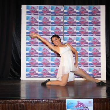 La danza fue una de las muestras