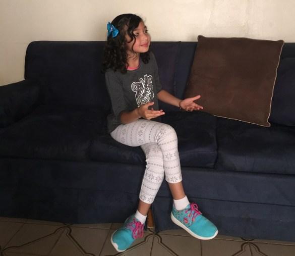 Eva la niña de 8 años que habla sobre su visión de Venezuela