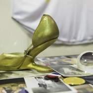 Exhibición de prendas icónicas de Celia Cruz/ Foto: EFE