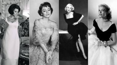 Sofía Loren, Olivia de Havilland, Marlene Dietrich y Grace Kelly con diseños de Dior/ Foto: rtve