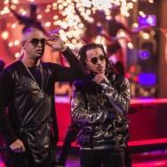 Wisin y Ozuna cantando en los LAtiin American Music Awards/ Foto: Cortesía