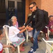 """""""Estoy feliz. Cuando uno se siente con gente tan buena, tan llena de buen espíritu uno entra en esa misma energía"""", mencionó Luis Olavarrieta"""