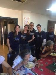 Se sumaron a Comida Solidaria figuras como la animadora Josemith Bermúdez, la jueza Mónica Fernández, y los periodistas Adriana Núñez, Caterina Valentino y Luis Olavarrieta