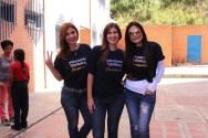Se sumaron a Comida Solidaria figuras como la jueza Mónica Fernández, y los periodistas Adriana Núñez, Caterina Valentino y
