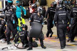 Escudería Mercedes 2017 F1 Hamilton Bottas (3)