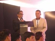 Osman Aray y Bruno Calderón
