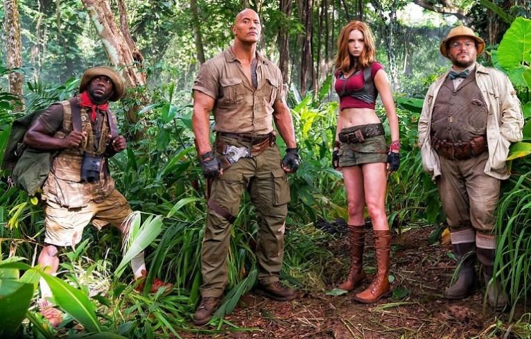 """Jumanji: Welcome to the Jungle"" reina en la taquilla estadounidense por segundo fin de semana consecutivo, esta vez con una recaudación estimada de 35,4 millones de dólares/ Foto: Archivo"