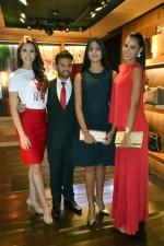 CH Carolina Herrera recibió a las misses/Foto: Cortesía