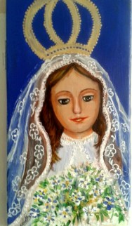 Marielba Marcano, la pintora de las Vírgenes de Margarita 1