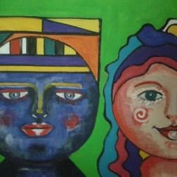 Marielba Marcano, la pintora de las Vírgenes de Margarita 6