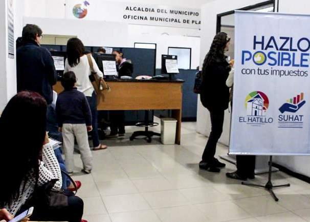 ARRANCA OPERATIVO DE pago IMPUESTOS EL HATILLO 04