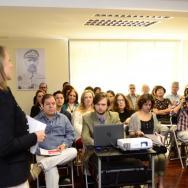 Milena Lukasiewicz presentó la agenda de actividades de la Embajada de Polonia en Venezuela para el año 2018/ Foto: Alfonso López