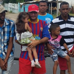 Desnutrición por falta de comida en Bolívar Foto: Cortesía NDP