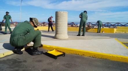 Paseo La Marina en el estado Vargas