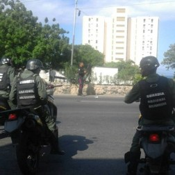 Protestas en Macuto, Edo Vargas