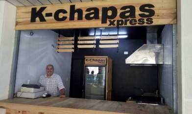 En las próximas semanas los emprendedores Guido Torrealba y Carlos Silva ofrecerán en la feria del centro comercial Manzanares K-chapas Express