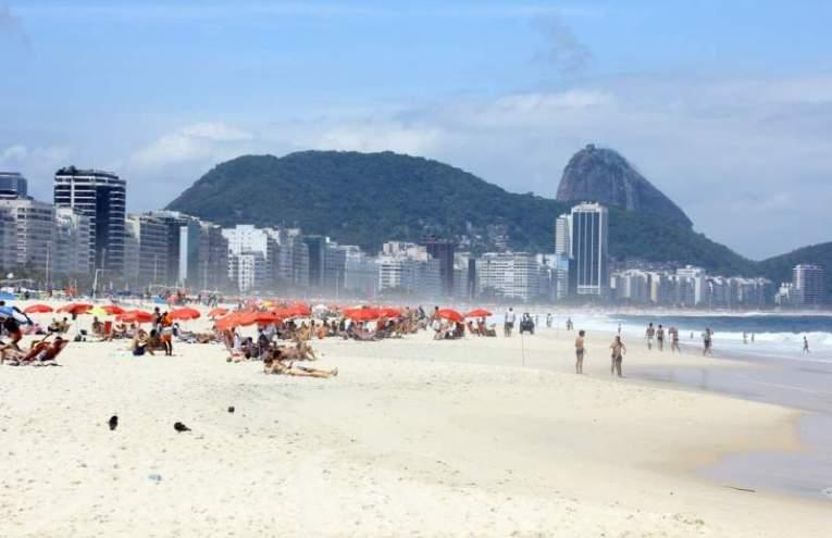 Copacabana, en Rio de Janeiro