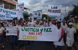 El pueblo de Arapuey, al norte del estado Mérida, exigieron justicia por sus familiares muertos y heridos en manifestaciones por comida 15