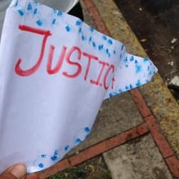 El pueblo de Arapuey, al norte del estado Mérida, exigieron justicia por sus familiares muertos y heridos en manifestaciones por comida 6