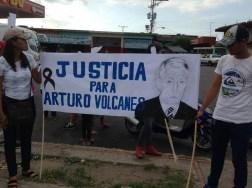 El pueblo de Arapuey, al norte del estado Mérida, exigieron justicia por sus familiares muertos y heridos en manifestaciones por comida 8