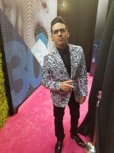 Roman El Ro en Premios Lo Nuestro. Foto: Cortesía Sirius Comunicaciones