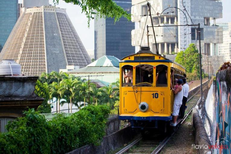 Tranvía de Río de Janeiro