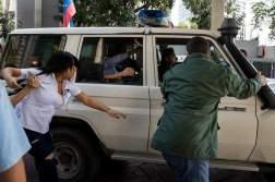 Funcionarios del Sebin detienen al exministro venezolano de Interior Miguel Rodríguez Torres Foto EFE