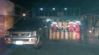 En Táchira detienen seis personas por robo de gas de la planta de llenado