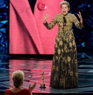 Durante su discurso en los Óscar, Frances McDormand reivindió a las mujeres