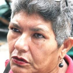 Marleny Castellanos, habitante de trujillo se queja por la falta de efectivo
