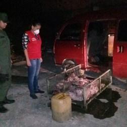 En frontera de Tachira hallan carne en descomposición que sería llevada a Colombia