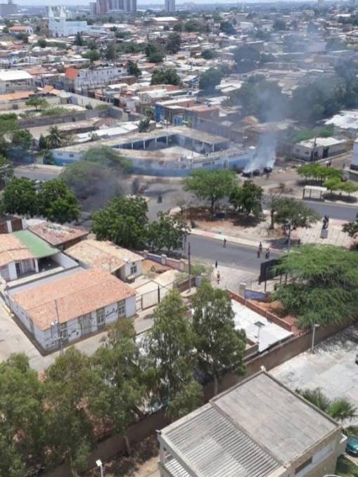 protestas en el sur de maracaibo