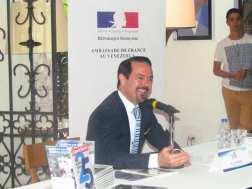 El embajador Romain Nadal destacó que este semana marca la vitalidad y la actualidad de la relación bilateral entre Francia y Venezuela