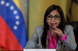 Delcy Rodríguez, vicepresidenta de Venezuela/ Foto: EFE