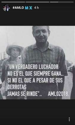 Belinda y López Obrador/ Foto: Instagram @belinda