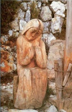 crucifixión en el filo del tisure-1991