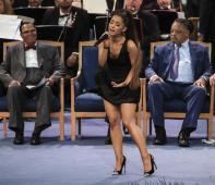 Ariana Grande se despide de Aretha Franklin