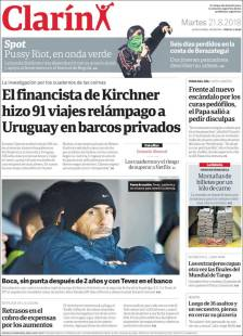 portada diario clarin reconversion