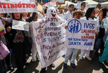 protesta de salud efe