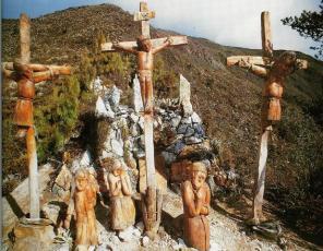 Crucifixión en el Filo del Tisure, 1991