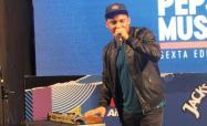 Jhoa Beats en la rueda de prensa de los Premios Pepsi Music / Foto: Dánae Rivero