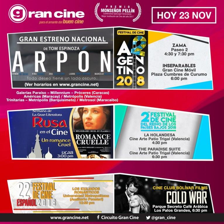 El 2do. Festival de Cine Argentino