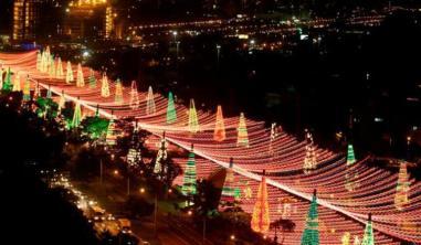 Alumbrado de Navidad en Medellín/ Foto: Referencial