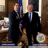 Juan guaido y almagro