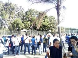 trabajadores protesta