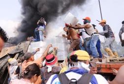 ayuda humanitaria quemada8