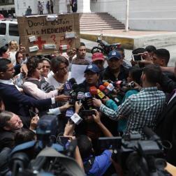 Protestas Caracas Foto: EFE